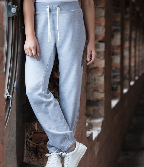 Ladies breathable sweatpants