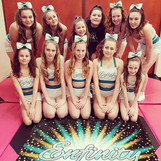 Our Enfinity Allstars team are ready for