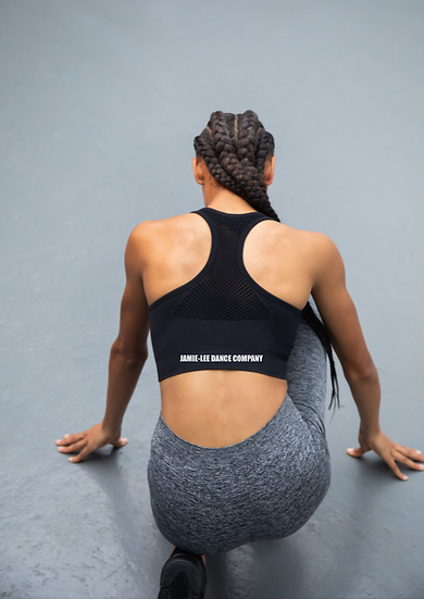 JLDC - Women's Seamless Crop with back print