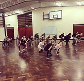 Great classes tonight, everyone working