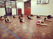 Great class today, well done dancers! Te