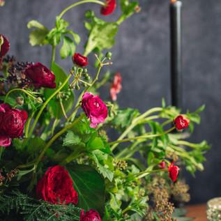 Blooming Burgundy