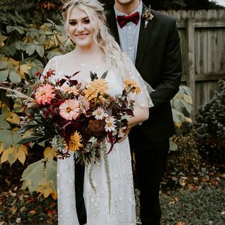 Wild and Wonderful Autumn Bridal Bouquet