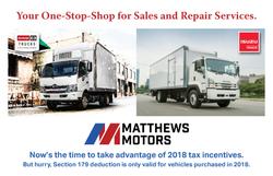 18_Q4_Bonus Postcard_Matthews Motors - I
