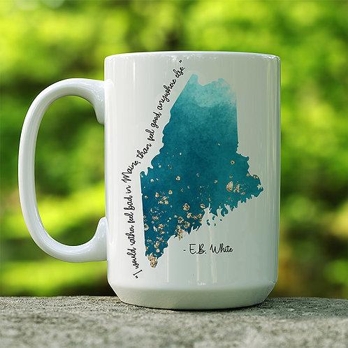 I Would Rather Maine Mug