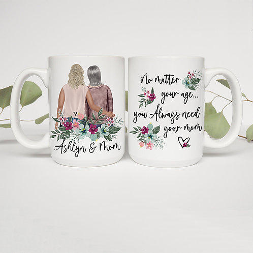 Always Need Your Mom Personalized Mug