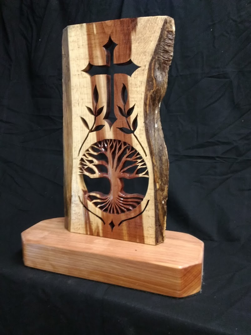 Cedar Cross - Unique Design - Side View