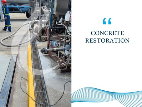 Concrete Repairs at a Gas Production Plant – Phase 1