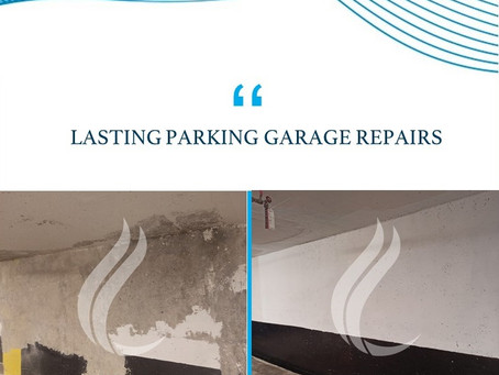 Lasting Repair and Waterproofing Solutions for Parking Garages