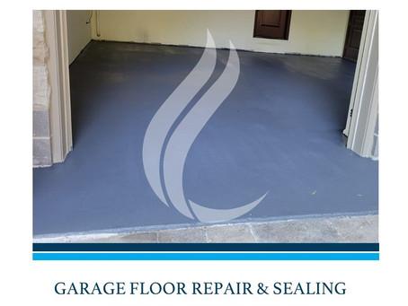 Lasting Garage Floor Repair and Waterproofing