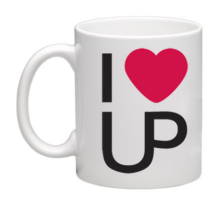 T.3 TAZZA / MUG I LOVE UP