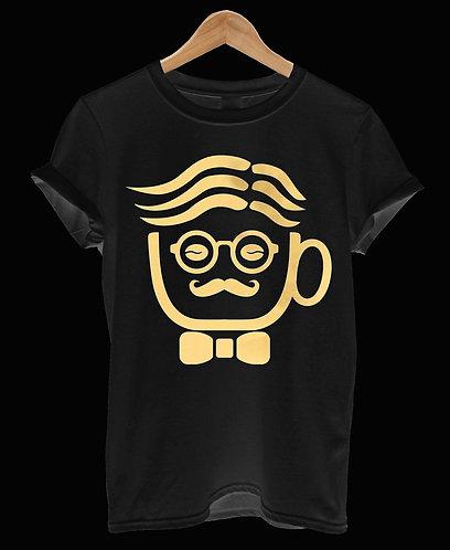 GIORGIO - BLACK AND GOLD T-SHIRT