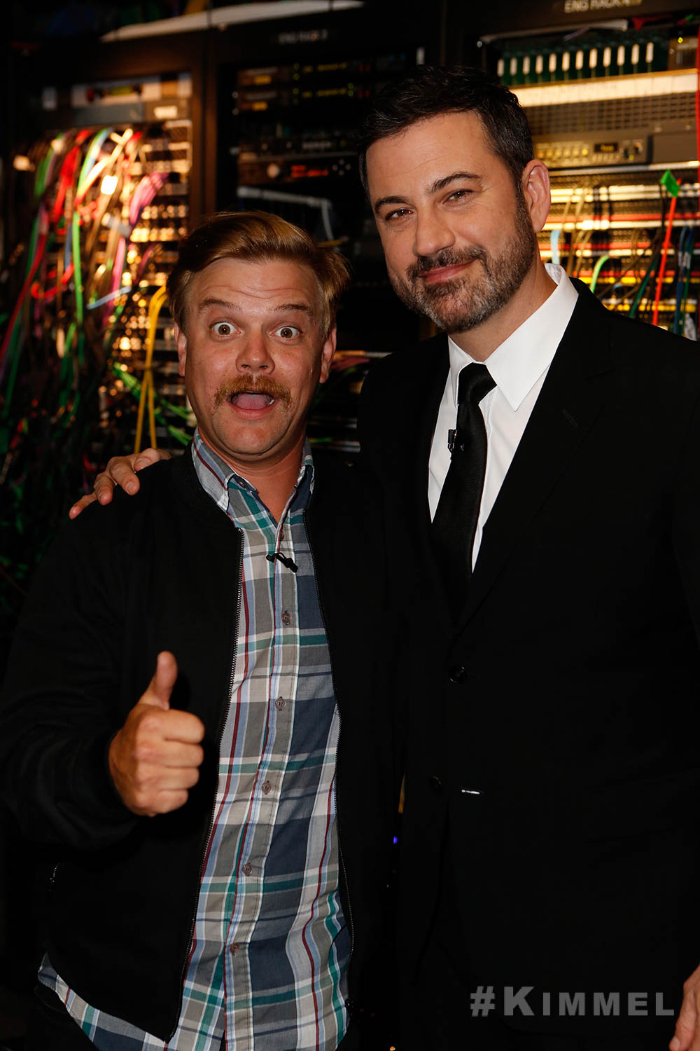 Jimmy Kimmel and Chris