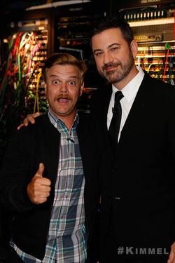 Jimmy Kimmel and Chris