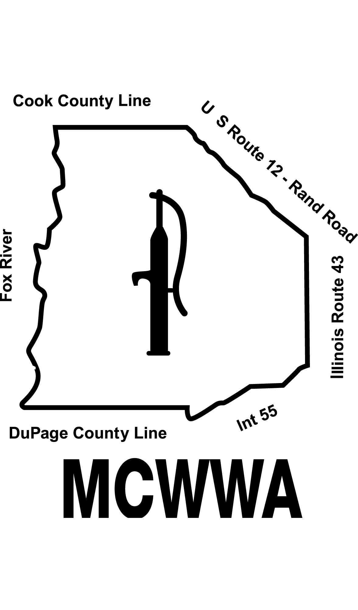 Mid-Central Water Works Association Logo