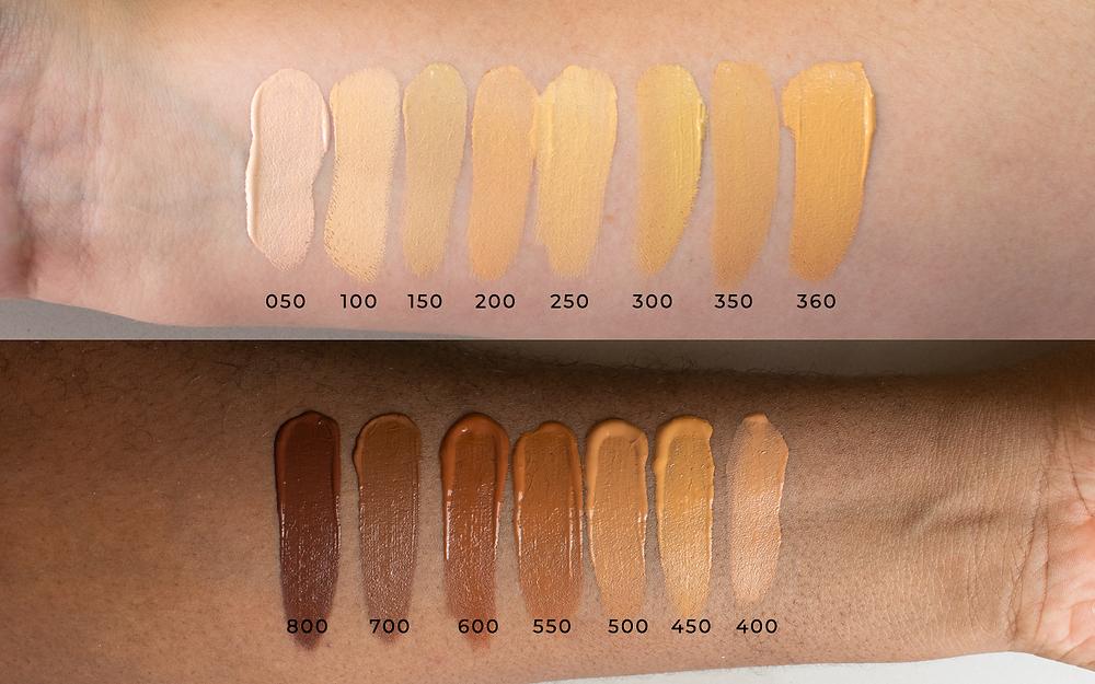 maquiagem vegana adversa, bas liquida matte vegana, bb cream vizzela, adversa makeup