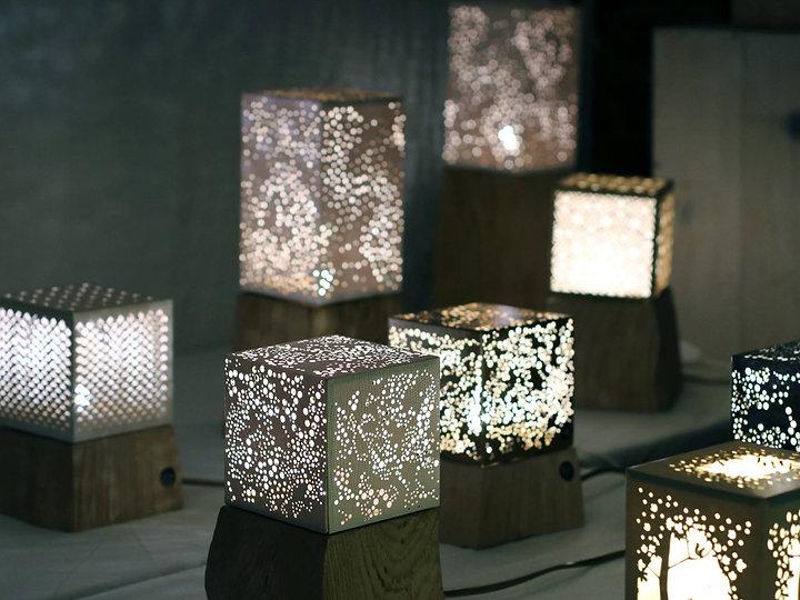 Luminaire artisanal design Bolero design
