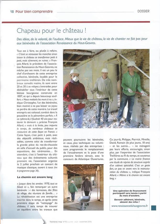 Treillières Mag n°72 07.08.09 / 2016