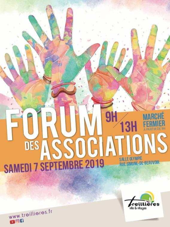 Forum des associations et marché fermier le 07 septembre 2019