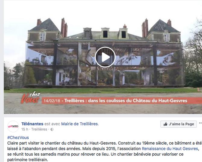 Treillières : dans les coulisses du Château ...