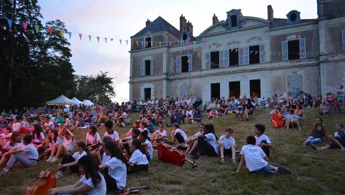 Fête au château le 03 juillet prochain... quelques précisions importantes :