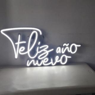"""Letrero con Luz Neón """" Feliz Año Nuevo """""""