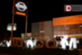 Logotipo Autocom Gigante D-Event D Event DEvent Letras Gigantes 3D