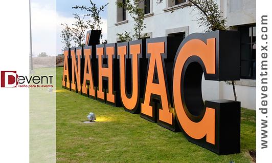 Letras Gigantes Anahuac Queretaro Devent Deventmex