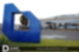 Logotipo Metecno Gigante D-Event D Event DEvent Letras Gigantes 3D