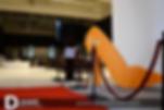 Logotipo TwoPar Two Par Zapatilla Nuestra Belleza Tacon Gigante D-Event D Event DEvent Letras Gigantes 3D
