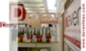 Letras Gigantes Logotipo DEvent D-Event Event Eventos 3D