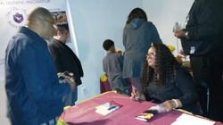 Nita Nae Signing Books-Jordans