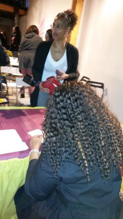 Nita Nae Signing Books-Latonya & Yolana