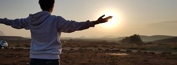 מסע במדבר- סדנא ייחודית של יומיים במדבר לנשים שעברו לידת קרעים