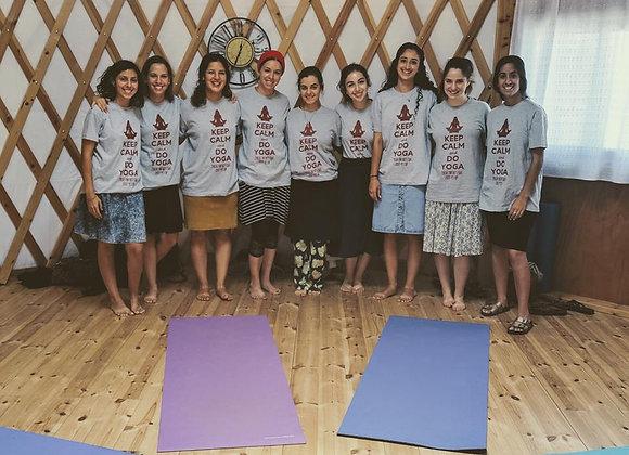 סדנאת יוגה פרטית לנשים ונערות