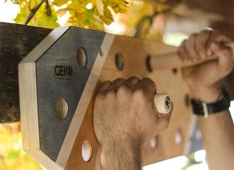 Geko pegboard - לוח טיפוס