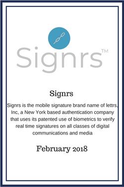 Signrs