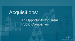 Acquisitions: A Pubco Opportunity