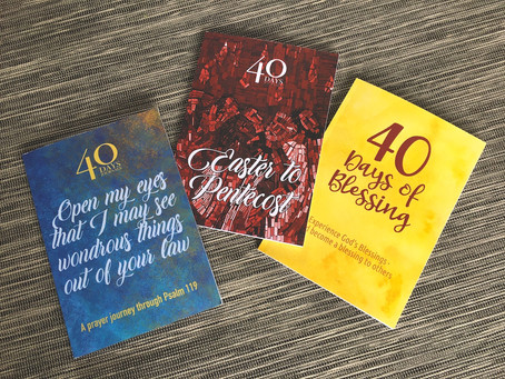Three spiritual journals to help you keep going after Easter