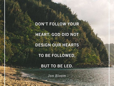 Why 'follow your heart' is the Gospel of Disney, not the Gospel of Christ.
