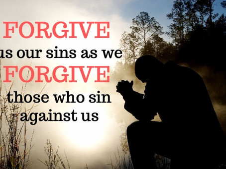 Do we forgive others?
