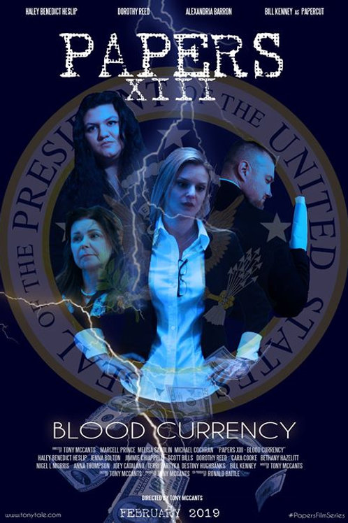PAPERS XIII: BLOOD CURRENCY