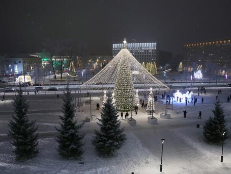 New Year in Arkhangelsk