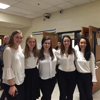 District Choir ladies