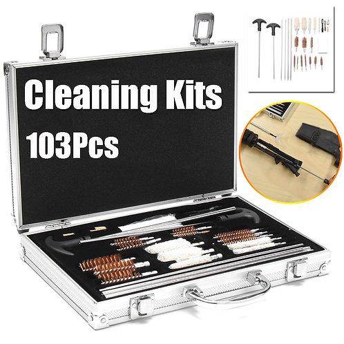 103pcs Professional Gun Cleaning Set