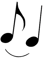 Notes of Joy logo. Creating connection and wellbeng through music