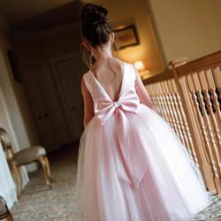 Pink Flowergirl Dress