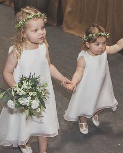 Chiffon Flowergirl Dresses
