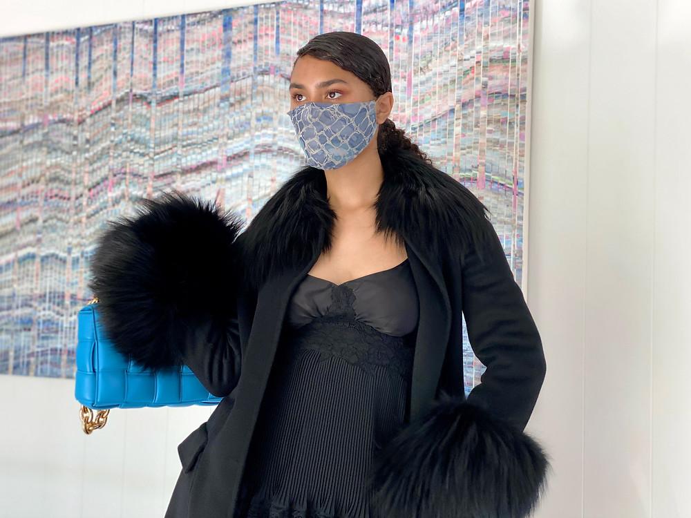 Lux Silk Mask Style Oceano