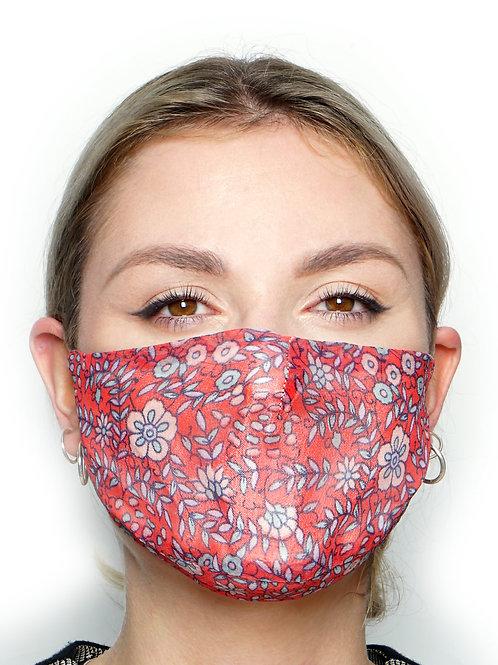 Gypsophi - Silk Face Mask